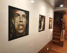 "Load image into Gallery viewer, ""Your Majesty. Mick Jagger"" by Robin Austin - BOCCARA ART Online Store"