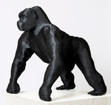 "Load image into Gallery viewer, Aluminium Sculpture ""SILVERBACK"" By Jean Paul Kala - BOCCARA ART Online Store"