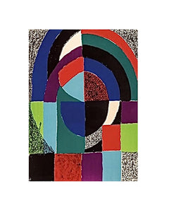 """Cathedrale"" by Sonia Delaunay - BOCCARA ART Online Store"