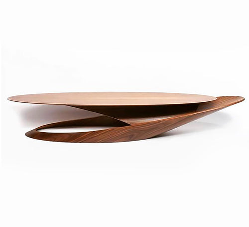 Italian Modern Architectural Coffee Table, Minimalism, Asian Style - BOCCARA ART Online Store