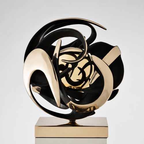 Legendary Kinetic Bronze sculpture