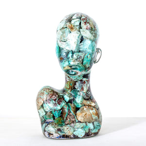 """ESTANATLEHI - Turquoise Lady"" by Guido Oakley - BOCCARA ART Online Store"