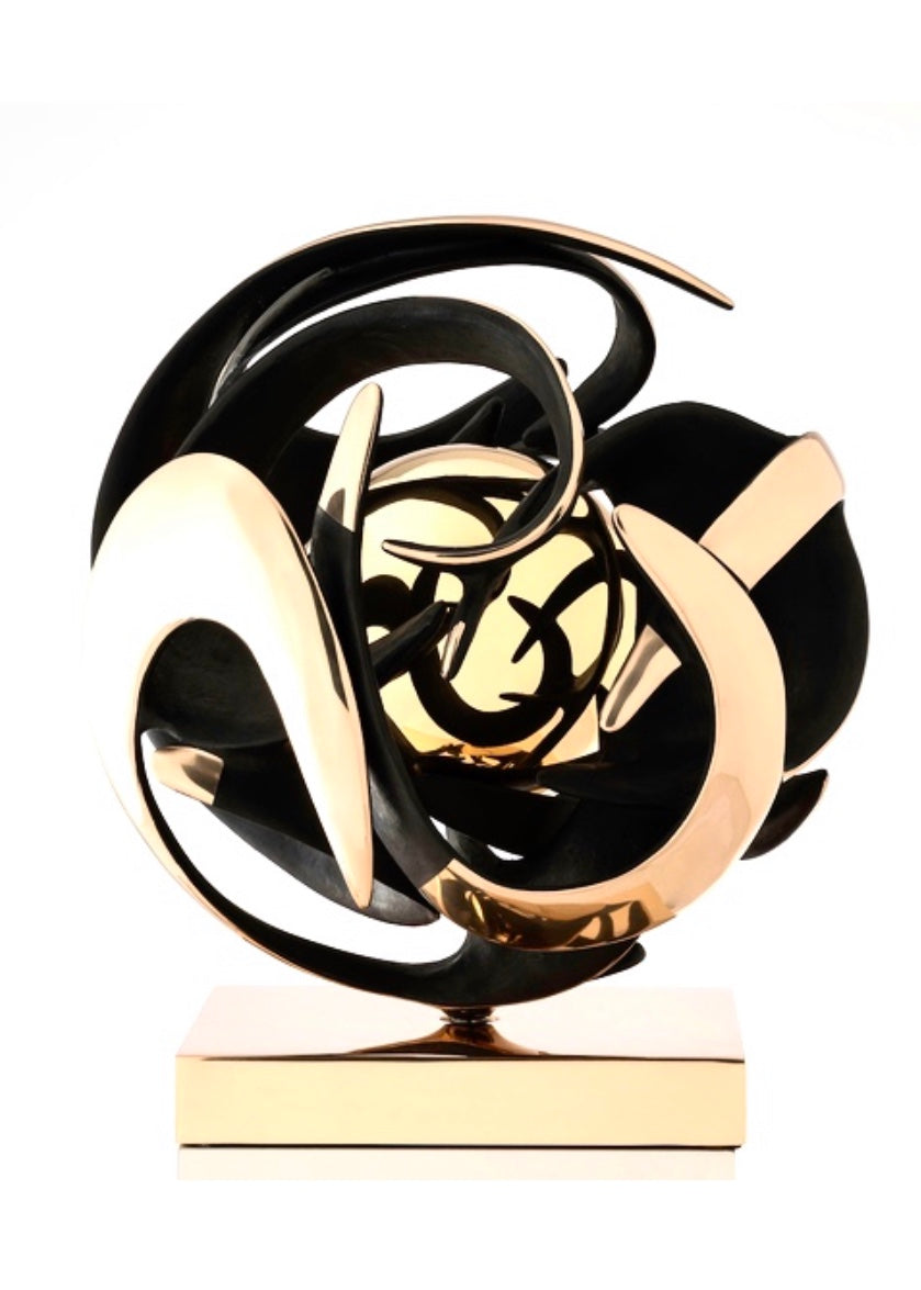 Beautiful Kinetic Bronze sculpture