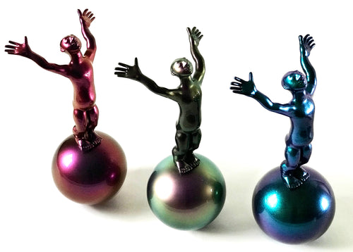 Kinetic toy-sculpture