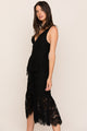 Yumi Kim's new La Vida classic black lace cocktail dress you will wear on repeat.