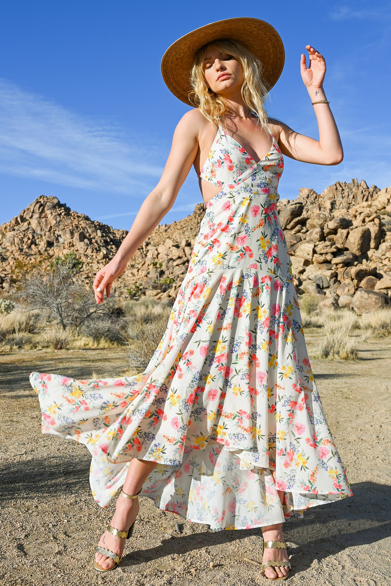 Yumi Kim DAY DATE MAXI DRESS