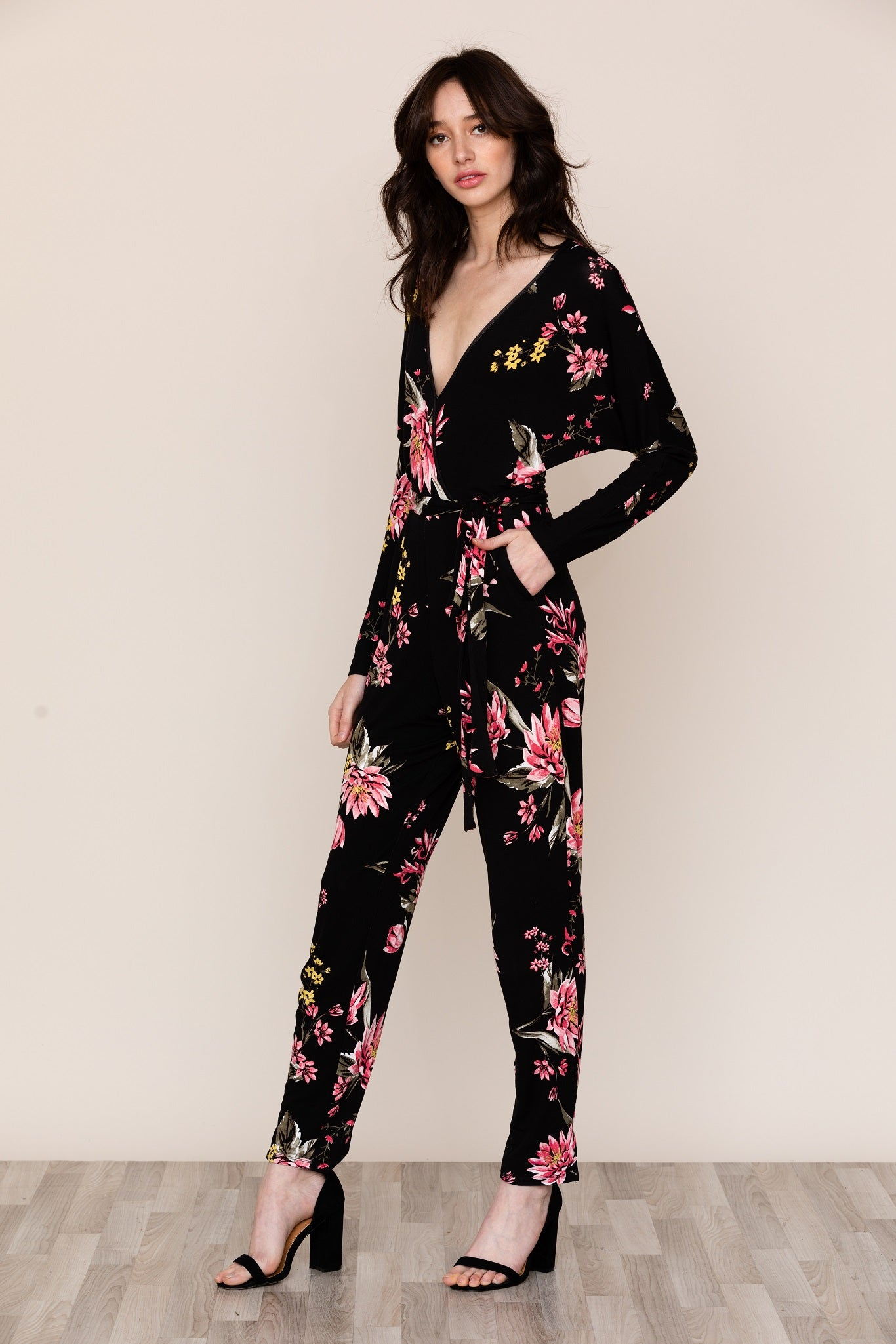 FREE FALL JERSEY JUMPSUIT