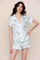 BEAUTY REST FLORAL PAJAMA SET