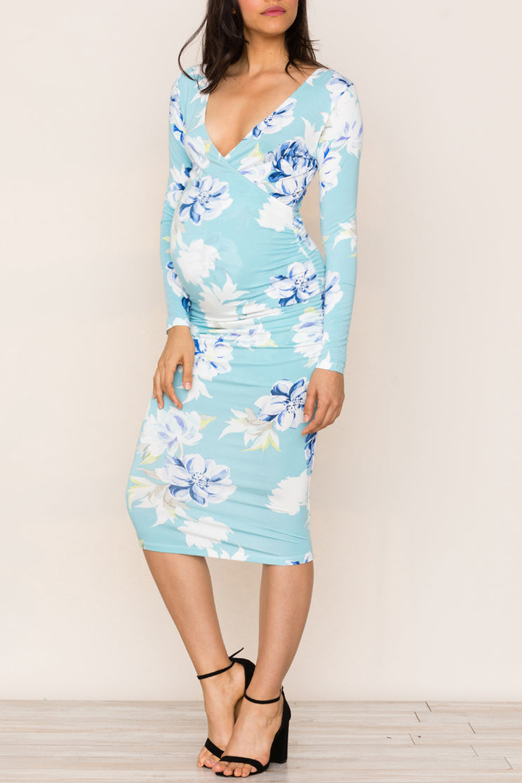 Find easy elegance and comfort in Yumi Kim's 5th Ave Maternity Jersey Dress. Wanderlust  Jade