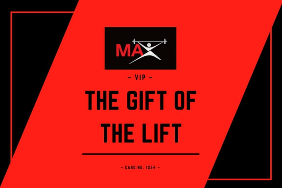 MAXbarbell Gift Cards