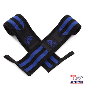 Oni Wrist Wraps 60cm IPF Approved (Black/Blue)