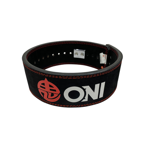 ONI Demon Lever Action Belt IPF Approved 13mm Powerlifting Belt