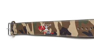 MAXbarbell Essentials - Camo powerlifting belt