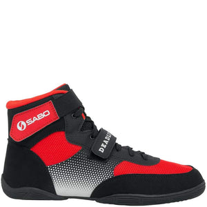 SABO Deadlift-1 Lifting shoes - Red/Black (Size 41 RUS/8.5 US only)