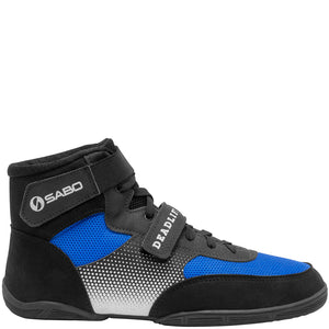 SABO Deadlift-1 Lifting shoes - Blue (size 34 RUS/3 US mens/4.5 womens)