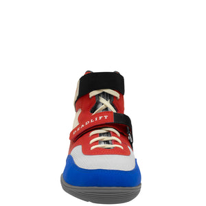 SABO Deadlift-1 Lifting shoes - Red, White & Blue