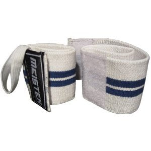 Elastic Support Wrist Wrap w/ Thumb Loop - White
