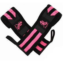 Oni Wrist Wraps 60cm IPF Approved (Black/Pink)