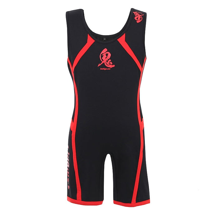 ONI Singlet IPF Approved - (Black & Red)