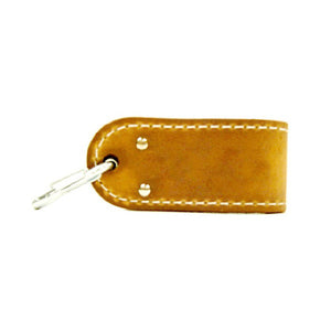 Leather Dip Accessory with Chain