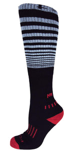 The Force Black & Grey - Moxy Deadlift Socks