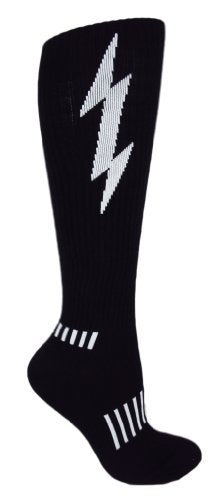 Lightning Knee-High Insane Bolt - Moxy Deadlift Socks