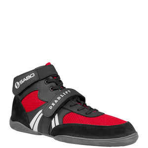 SABO Deadlift Lifting shoes - Red - CLEARANCE - size 41 RUS / 9 US
