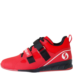 SABO PowerLift weightlifting shoes - Red (size 36 RUS/4.5 US mens/6 US womens)