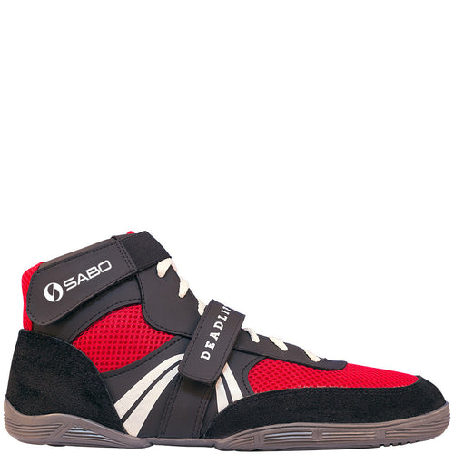 SABO Deadlift Lifting shoes - Red