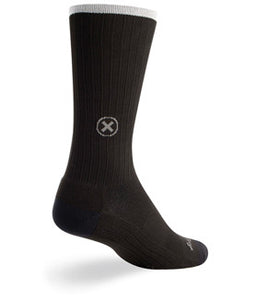 "SGX 8"" Black Compression Socks"