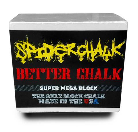 Spider Chalk - 7 oz Mega Gym Chalk Block