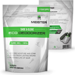 Meister Shoe & Glove Eco Deodorizer - 1 Year Supply