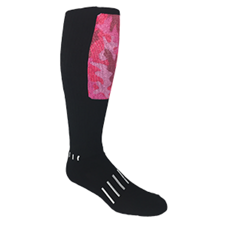 Pink Camo Block - Moxy Deadlift Socks