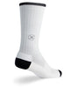 "SGX 8"" White Compression Socks"