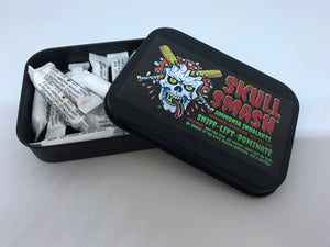 Skull Smash - Tin of single-use ammonia caps