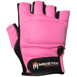 Pro Weight Lifting Gloves - Pink
