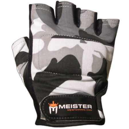 Pro Weight Lifting Gloves - Urban Camo
