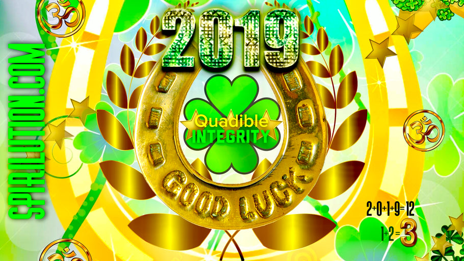 ★2019 GOOD LUCK CHARM! ATTRACT LUCK NOW! +528 MIRACLE TONE! SUBLIMINAL FREQUENCY - QUADIBLE INTEGRITY