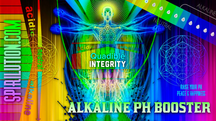 ★ALKALINE PH BOOSTER / BALANCER FREQUENCY FORMULA - RESTORE PH LEVELS FAST! QUADIBLE INTEGRITY★