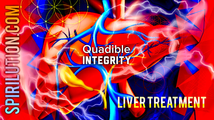 ★LIVER TREATMENT FREQUENCY CLEANSE, DETOX HEALER & ENERGIZER FORMULA ★ - QUADIBLE INTEGRITY