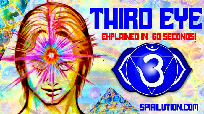 THE THIRD EYE EXPLAINED IN 60 SECONDS!