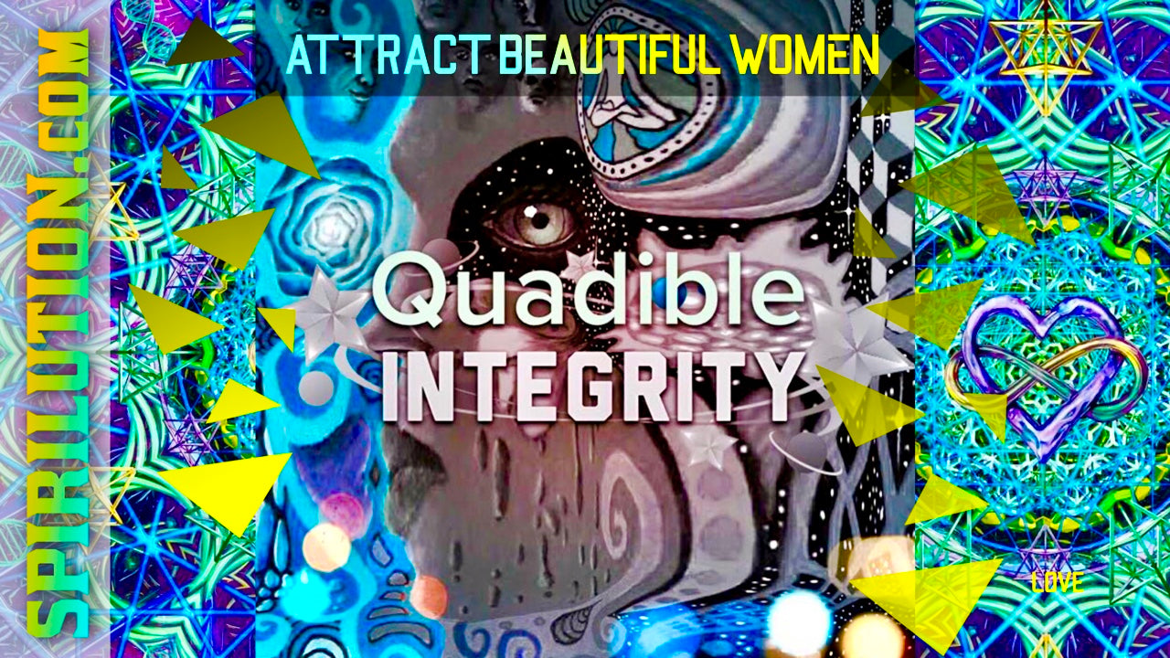 ATTRACT BEAUTIFUL WOMEN FAST! ALPHA MALE MAGNETISM ★ (SUBLIMINALS INTENT ENERGY FREQUENCIES) - QUADIBLE INTEGRITY