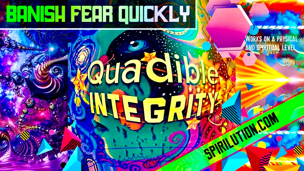 BANISH F.E.A.R. QUICKLY!★ SUBLIMINAL BINAURAL BEATS FREQUENCY) QUADIBLE INTEGRITY
