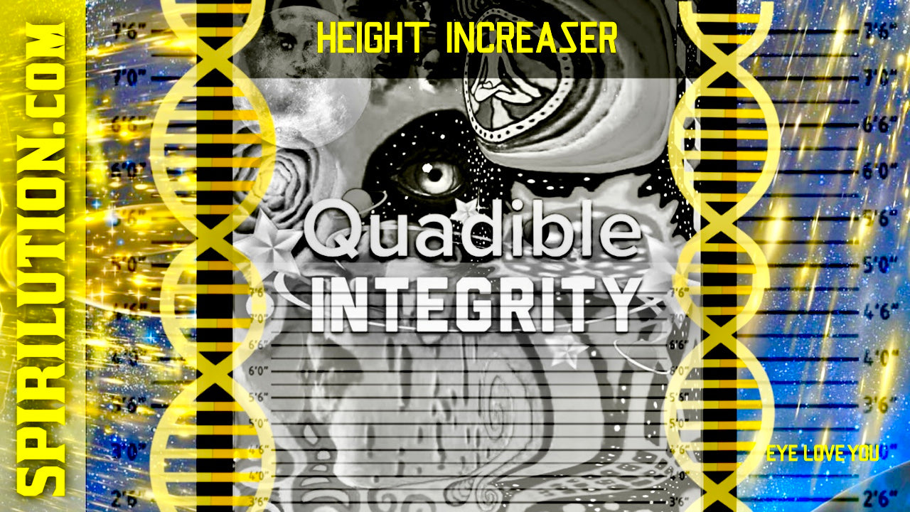 ★ HEIGHT INCREASING FORMULA★ GROW TALLER (SUBLIMINAL BRAINWAVE ENTRAINMENT BINAURAL BEATS) QUADIBLE INTEGRITY