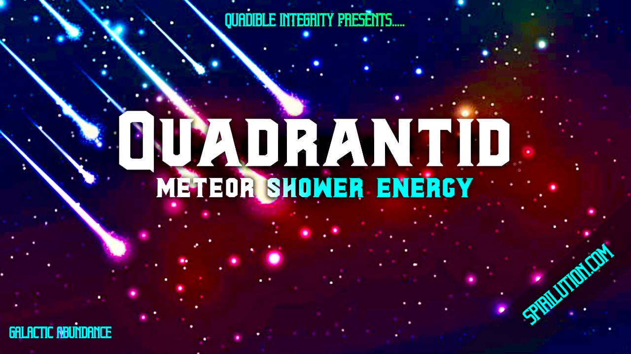 Quadrantid Meteor Shower Energy