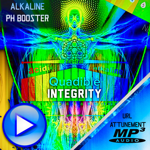 QUADIBLE INTEGRITY - ★ALKALINE PH BOOSTER / BALANCER FREQUENCY FORMULA - RESTORE PH LEVELS FAST! ATTUNED AUDIO★ - SPIRILUTION.COM