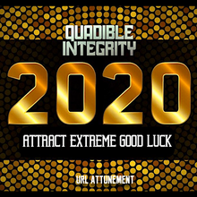 Load image into Gallery viewer, ATTRACT EXTREME GOOD LUCK IN THE YEAR 2020 FAST! QUADIBLE INTEGRITY - SPIRILUTION.COM
