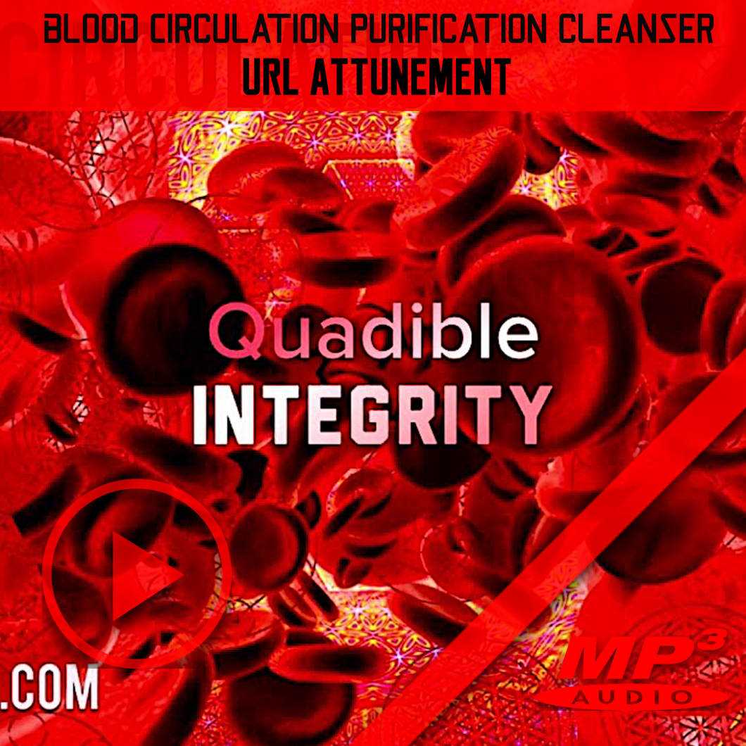★BLOOD CIRCULATION, PURIFICATION & CLEANSING FORMULA★ QUADIBLE INTEGRITY - SPIRILUTION.COM