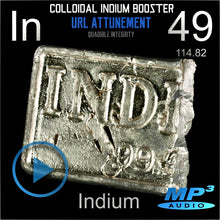 Load image into Gallery viewer, COLLOIDAL INDIUM BOOSTER - QUADIBLE INTEGRITY - SPIRILUTION.COM