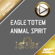 Laden Sie das Bild in den Galerie-Viewer, ★EAGLE TOTEM - ANIMAL SPIRIT GUIDE - INNER EAGLE POWERS & WISDOM FORMULA★ QUADIBLE INTEGRITY - AUDIO ATTUNEMENT - SPIRILUTION.COM